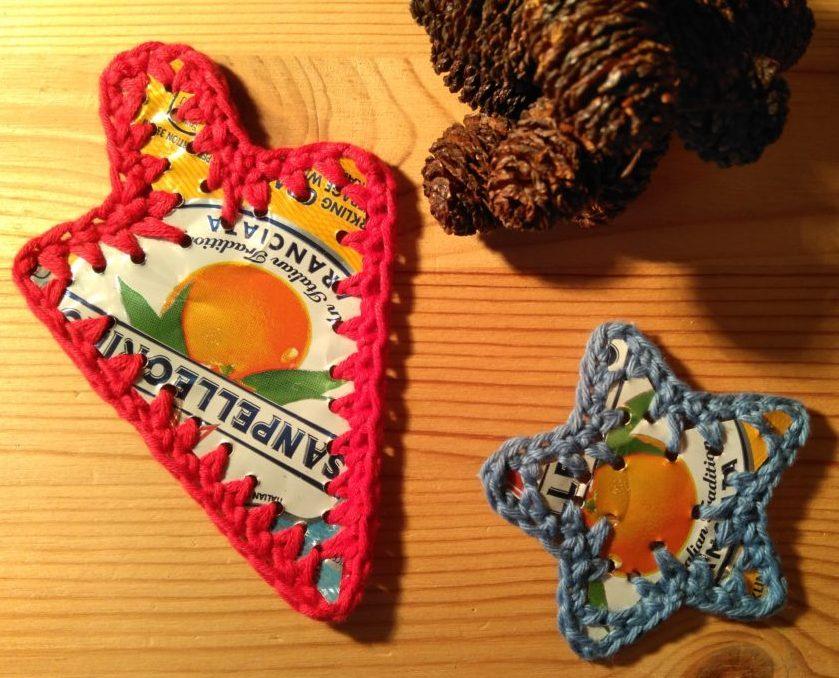 Genbrug af sodavandsdåser til julepynt