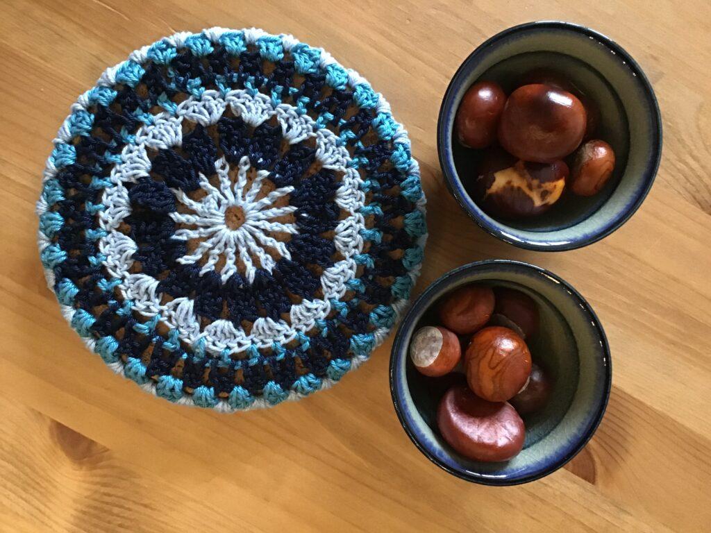Brug dine gamle garnrester til en flot bordskåner